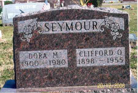 SEYMOUR, CLIFFORD O. - Ross County, Ohio | CLIFFORD O. SEYMOUR - Ohio Gravestone Photos