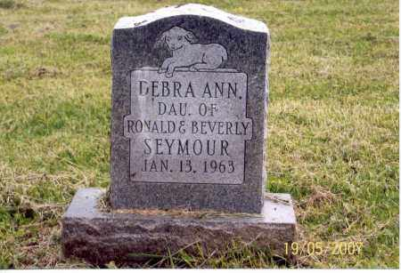 SEYMOUR, DEBRA ANN - Ross County, Ohio | DEBRA ANN SEYMOUR - Ohio Gravestone Photos