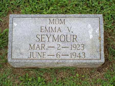 SEYMOUR, EMMA V. - Ross County, Ohio | EMMA V. SEYMOUR - Ohio Gravestone Photos