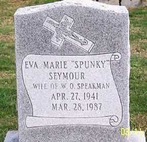 "SEYMOUR SPEAKMAN, EVA MARIE ""SPUNKY"" - Ross County, Ohio 