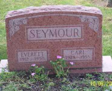 SEYMOUR, EVERETT - Ross County, Ohio | EVERETT SEYMOUR - Ohio Gravestone Photos