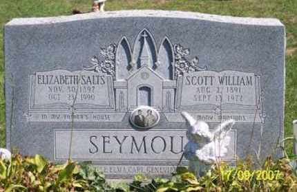 SALTZ SEYMOUR, ELIZABETH - Ross County, Ohio | ELIZABETH SALTZ SEYMOUR - Ohio Gravestone Photos