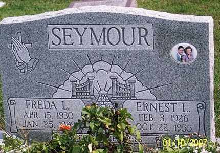 SEYMOUR, ERNEST L. - Ross County, Ohio | ERNEST L. SEYMOUR - Ohio Gravestone Photos