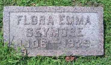 SEYMORE, FLORA EMMA - Ross County, Ohio | FLORA EMMA SEYMORE - Ohio Gravestone Photos