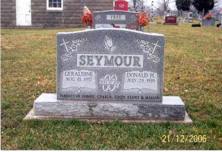 SEYMOUR, GERALDINE - Ross County, Ohio | GERALDINE SEYMOUR - Ohio Gravestone Photos