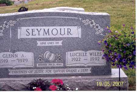 SEYMOUR, GLENN A. - Ross County, Ohio | GLENN A. SEYMOUR - Ohio Gravestone Photos