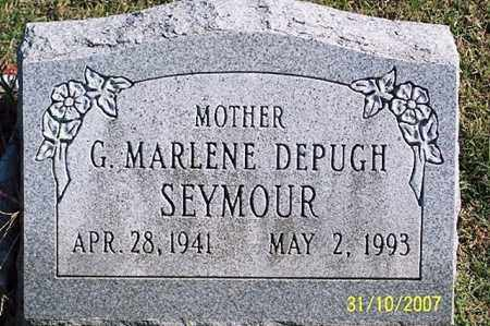 SEYMOUR, G. MARLENE - Ross County, Ohio | G. MARLENE SEYMOUR - Ohio Gravestone Photos