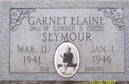 SEYMOUR, GARNET ELAINE - Ross County, Ohio | GARNET ELAINE SEYMOUR - Ohio Gravestone Photos