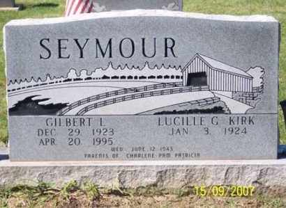 SEYMOUR, GILBERT L. - Ross County, Ohio | GILBERT L. SEYMOUR - Ohio Gravestone Photos