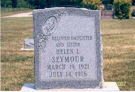 SEYMOUR, HELEN L. - Ross County, Ohio | HELEN L. SEYMOUR - Ohio Gravestone Photos