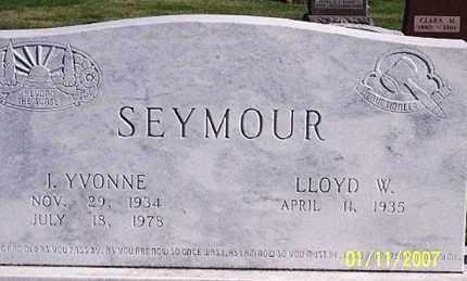 SEYMOUR, I. YVONNE - Ross County, Ohio | I. YVONNE SEYMOUR - Ohio Gravestone Photos