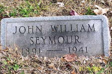 SEYMOUR, JOHN WILLIAM - Ross County, Ohio | JOHN WILLIAM SEYMOUR - Ohio Gravestone Photos