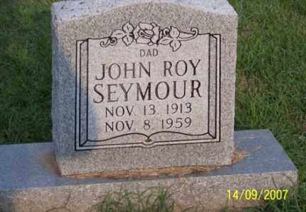 SEYMOUR, JOHN ROY - Ross County, Ohio | JOHN ROY SEYMOUR - Ohio Gravestone Photos