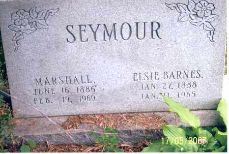 SEYMOUR, MARSHALL - Ross County, Ohio | MARSHALL SEYMOUR - Ohio Gravestone Photos