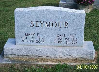 SEYMOUR, MARY E. - Ross County, Ohio | MARY E. SEYMOUR - Ohio Gravestone Photos