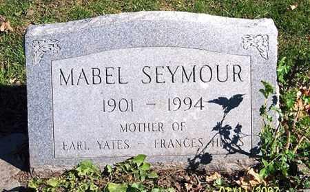 SEYMOUR, MABEL - Ross County, Ohio | MABEL SEYMOUR - Ohio Gravestone Photos
