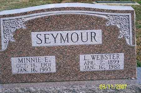 SEYMOUR, L. WEBSTER - Ross County, Ohio | L. WEBSTER SEYMOUR - Ohio Gravestone Photos