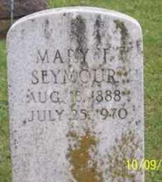 SEYMOUR, MARY I. - Ross County, Ohio | MARY I. SEYMOUR - Ohio Gravestone Photos