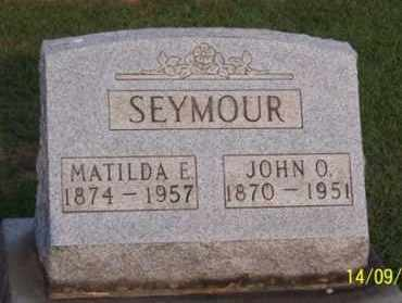 SEYMOUR, MATILDA E. - Ross County, Ohio | MATILDA E. SEYMOUR - Ohio Gravestone Photos
