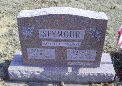 SEYMOUR, MAXWELL - Ross County, Ohio | MAXWELL SEYMOUR - Ohio Gravestone Photos