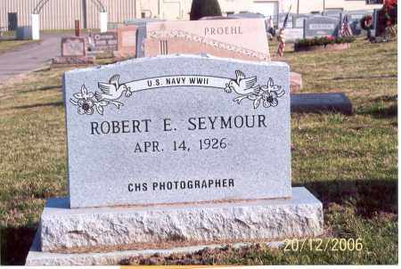 SEYMOUR, ROBERT E. - Ross County, Ohio | ROBERT E. SEYMOUR - Ohio Gravestone Photos