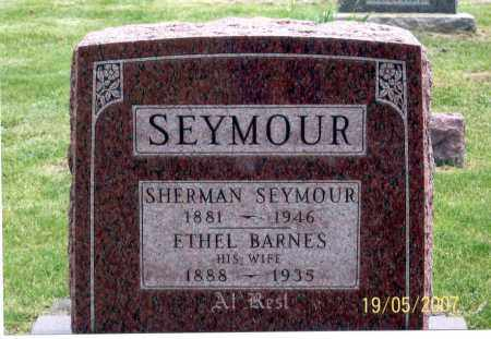 SEYMOUR, SHERMAN - Ross County, Ohio | SHERMAN SEYMOUR - Ohio Gravestone Photos