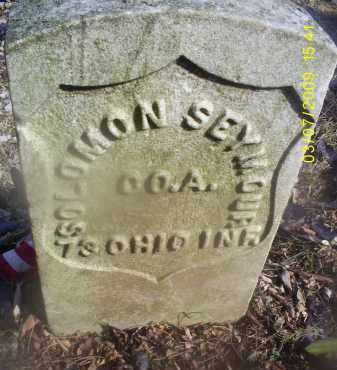 SEYMOUR, SOLOMON - Ross County, Ohio | SOLOMON SEYMOUR - Ohio Gravestone Photos