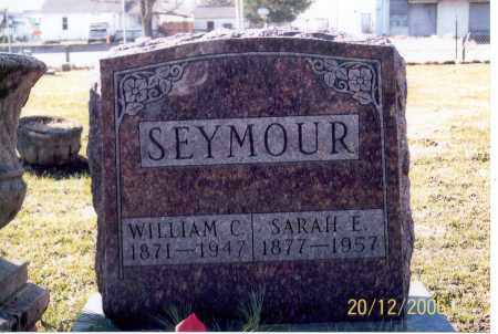 SEYMOUR, SARAH E. - Ross County, Ohio | SARAH E. SEYMOUR - Ohio Gravestone Photos