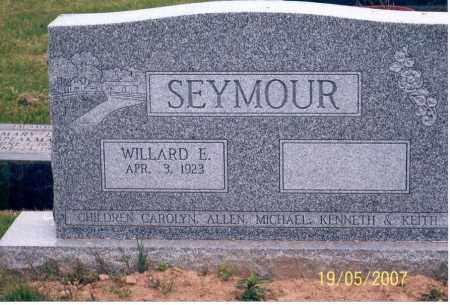 SEYMOUR, WILLARD E. - Ross County, Ohio | WILLARD E. SEYMOUR - Ohio Gravestone Photos