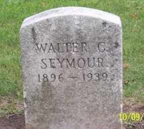 SEYMOUR, WALTER C. - Ross County, Ohio   WALTER C. SEYMOUR - Ohio Gravestone Photos