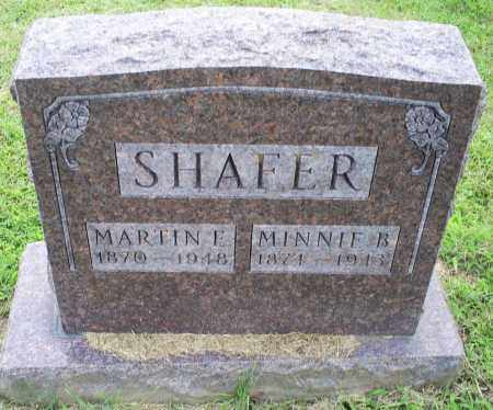 SHAFER, MARTIN E. - Ross County, Ohio | MARTIN E. SHAFER - Ohio Gravestone Photos
