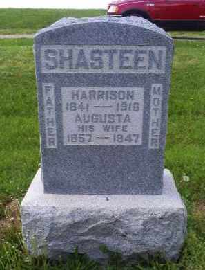 SHASTEEN, AUGUSTA - Ross County, Ohio | AUGUSTA SHASTEEN - Ohio Gravestone Photos