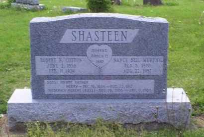 "SHASTEEN, ROBERT N. ""COTTON"" - Ross County, Ohio 