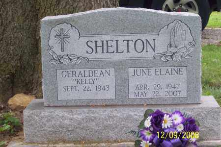 SHELTON, JUNE ELAINE - Ross County, Ohio | JUNE ELAINE SHELTON - Ohio Gravestone Photos