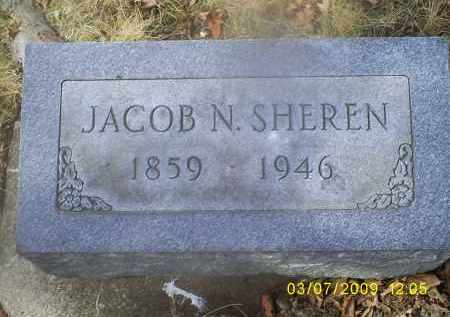 SHEREN, JACOB N. - Ross County, Ohio | JACOB N. SHEREN - Ohio Gravestone Photos