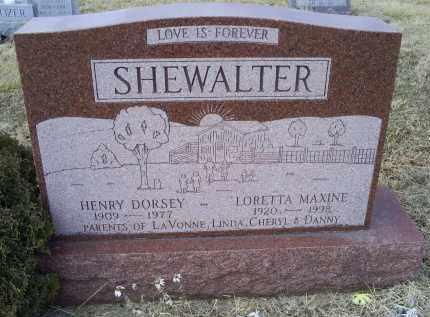 SHEWALTER, LORETTA MAXINE - Ross County, Ohio | LORETTA MAXINE SHEWALTER - Ohio Gravestone Photos