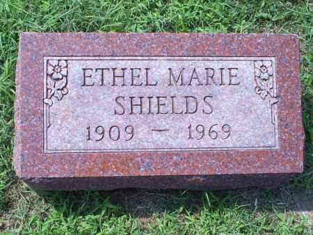 SHIELDS, ETHEL MARIE - Ross County, Ohio | ETHEL MARIE SHIELDS - Ohio Gravestone Photos