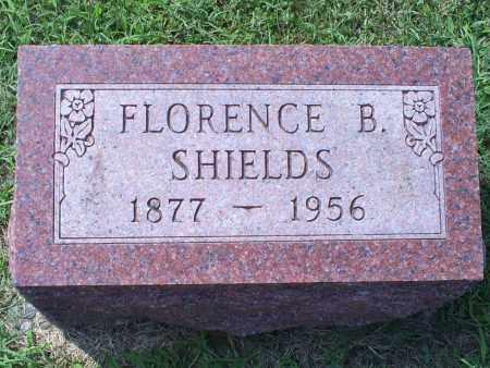SHIELDS, FLORENCE B. - Ross County, Ohio | FLORENCE B. SHIELDS - Ohio Gravestone Photos