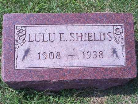 SHIELDS, LULU E. - Ross County, Ohio | LULU E. SHIELDS - Ohio Gravestone Photos