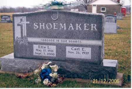 SHOEMAKER, ELLA L. - Ross County, Ohio | ELLA L. SHOEMAKER - Ohio Gravestone Photos