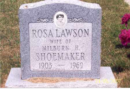 LAWSON SHOEMAKER, ROSA - Ross County, Ohio | ROSA LAWSON SHOEMAKER - Ohio Gravestone Photos