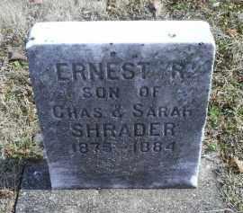 SHRADER, ERNEST R. - Ross County, Ohio | ERNEST R. SHRADER - Ohio Gravestone Photos