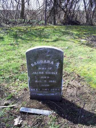 SIBOLE, BARBARA - Ross County, Ohio | BARBARA SIBOLE - Ohio Gravestone Photos