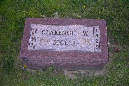 SIGLER, CLARENCE W. - Ross County, Ohio | CLARENCE W. SIGLER - Ohio Gravestone Photos