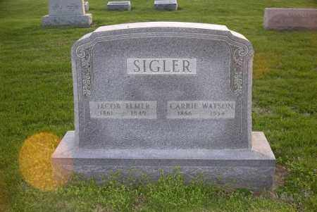 SIGLER, CARRIE - Ross County, Ohio | CARRIE SIGLER - Ohio Gravestone Photos