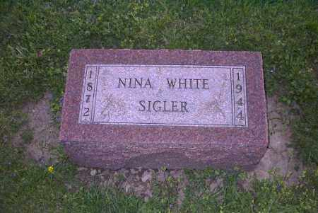SIGLER, NINA - Ross County, Ohio | NINA SIGLER - Ohio Gravestone Photos