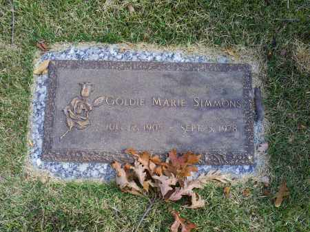 SIMMONS, GOLDIE MARIE - Ross County, Ohio | GOLDIE MARIE SIMMONS - Ohio Gravestone Photos