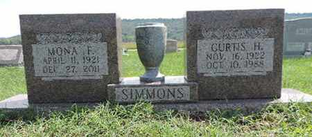 SIMMONS, MONA F - Ross County, Ohio | MONA F SIMMONS - Ohio Gravestone Photos