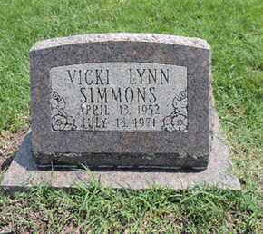 SIMMONS, VICKI LYNN - Ross County, Ohio | VICKI LYNN SIMMONS - Ohio Gravestone Photos