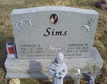 SIMS, VERNEDA M. - Ross County, Ohio | VERNEDA M. SIMS - Ohio Gravestone Photos